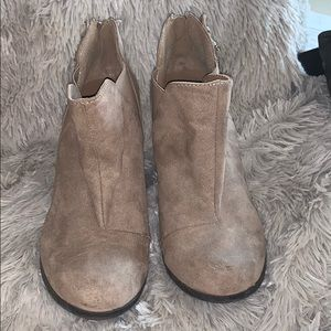 Maurices tealyn wedges ankle booties